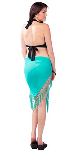 Of In Choice vert Cover Sheer Your Colors up 1 Femmes Sarongs World Turquoise Swimsuit Sarong w86Aqv1AP