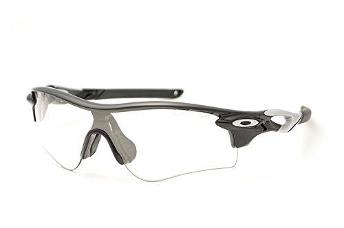 Oakley Men's Radarlock Path Shield Sunglasses, Polished Black, 138 - Path Sunglasses Radarlock Oakley