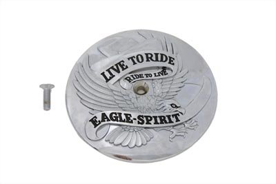 V-Twin 34-0557 - Eagle Spirit Air Cleaner Insert Chrome ()