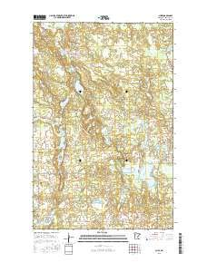 Aure, Minnesota topo map by East View Geospatial, 1:24:000, 7.5 x 7.5 Minutes, US Topo, 22.8