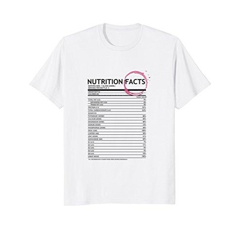 Sweet Syrah Wine - Wine Lovershirt -Wine Nutrition Facts T Shirt
