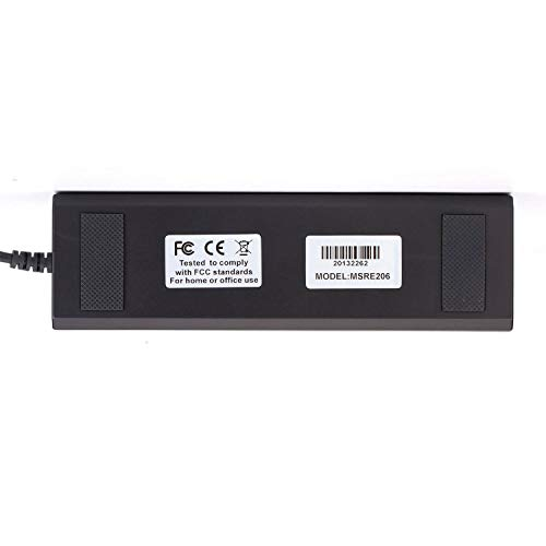 FidgetKute New USB 3 Tracks Hi-co Magstripe Card Reader Writer MSRE206 for Pos System by FidgetKute (Image #3)