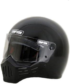 SIMPSON(シンプソン) バイクヘルメット フルフェイス Model30 ブラック 58cm