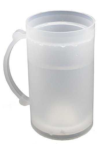 Compare Price To Frosty Freezer Mugs With Lids
