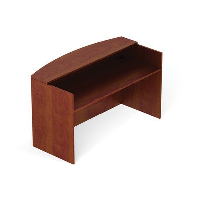 Offices to Go 71'' Reception Desk Shell - American Cherry