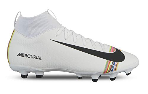 newest 2f96f 89bc3 Nike Youth Soccer Superfly 6 Academy LVL UP Multi Ground Cleats (4.5 Big  Kid M US).  62.48. Brand  Nike. Color  White Black-pure Platinum