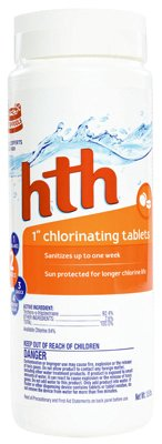 Hth Dual Action Chlorinating Tablets 1.5 Lbs. 1 -