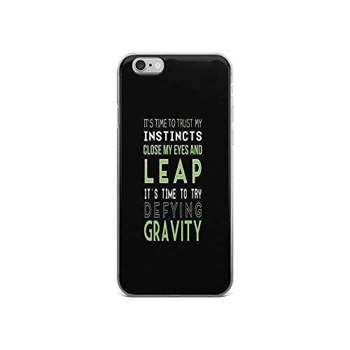 iPhone 6 Case iPhone 6s Case Clear Anti-Scratch Defy Gravity, Broadway Cover Phone Cases for iPhone 6/iPhone 6s, Crystal Clear