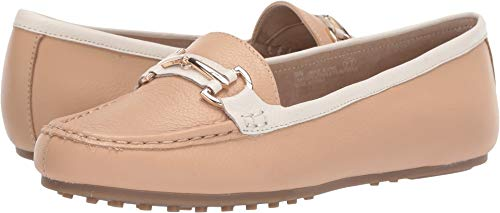 Aerosoles Women's Along Driving Style Loafer, Light Tan Combo, 8 W US ()