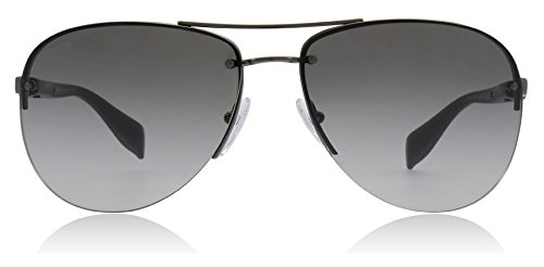 Prada Sport PS56MS 5AV3M1 Gunmetal PS56MS Pilot Sunglasses Lens Category 2 Size