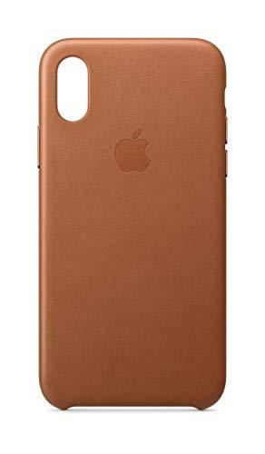 iphone x saddle brown leather