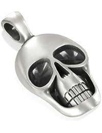 Morty, Special Skull Biker's Pendant, Including a Black Choker