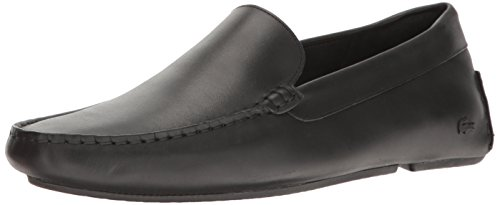 Lacoste Men's Piloter 117 1 Formal Shoe Fashion Sneaker, Black, 7.5 M US