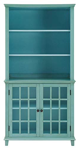 Display Cabinet in Antique Turquoise