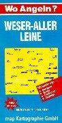 Wo angeln?, Nr.9, Weser, Aller, Leine (Wo angeln? / Karten)