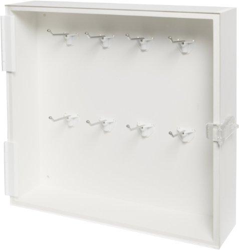 Brady Enclosed Padlock Storage Module with Clear Acrylic Door, 16-Padlock Capacity by Brady