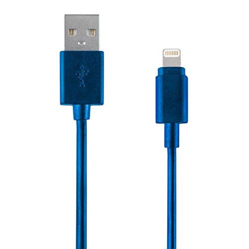Vivitar 3 FT Cable Lightning Charger, Blue by Vivitar