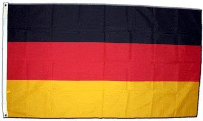 XXL Flagge Fahne Deutschland, genäht 150 x 250 cm