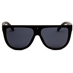 "PRIVÉ REVAUX ICON Collection ""The Coco"" Handcrafted Designer Oversized Sunglasses For Men & Women (Black)"