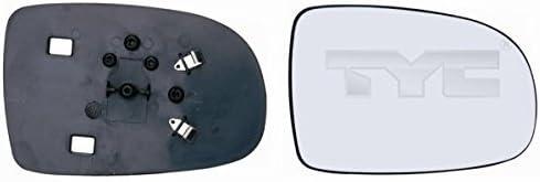 Spiegelglas Rechts Beifahrerseite Convex Nicht Beheizbar Für Opel Corsa C Bj 09 00 06 06 Nur Für Manuelle Verstellung Geeignet Auto
