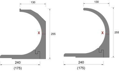 DiHa 18010 – Aislamiento para persianas (, Persiana. aislamiento roka de ASS® de 2 piezas rectangular, grosor 15 mm: Amazon.es: Bricolaje y herramientas