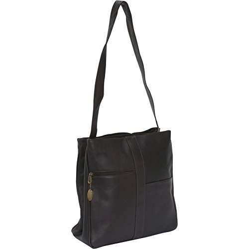 david-king-co-double-top-zip-shoulder-bag-820-cafe-one-size