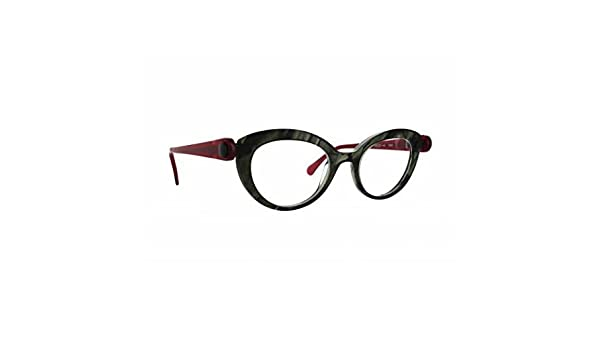 NEW Anne et Valentin Emerald Red Pick 1518 Eyeglass Frames ...