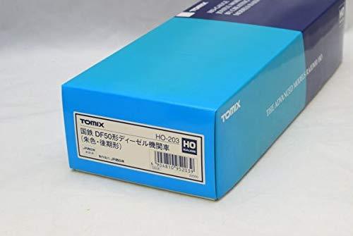 未走行品TOMIX トミックス HO-203 ◆ 国鉄 DE50形 ディーゼル機関車 (朱色後期形) B07PP3BR23