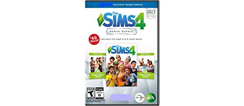 Price comparison product image The Sims 4 Bonus Exclusive Bundle - PC Game