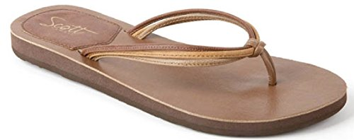 Flip Brown Haku Hawaii Scott Flops Women's UIwYSUTxq