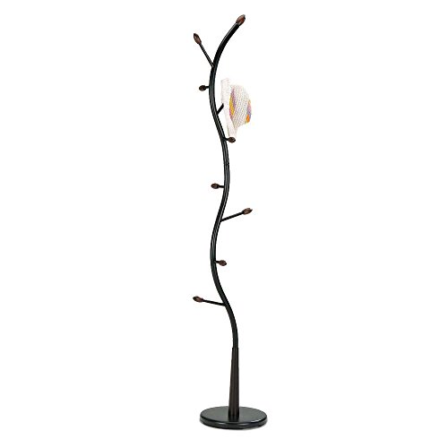 Durable Construction Curved Stand Metal Black Tree Coat Rack Keep Your Coat In - Near In Macy's Jobs Me