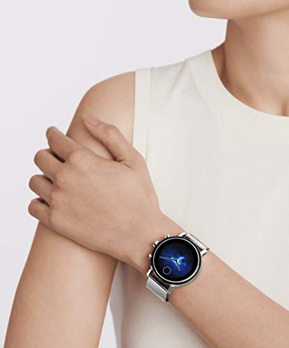 Movado Connect 2.0 Unisex Powered with Wear OS by Google Stainless Steel and Stainless Steel Smartwatch, Color: Silver (Model: 3660032)