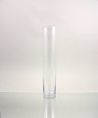 Amazon Clear Cylinder Glass Vase Candle Holder 3 X 16h