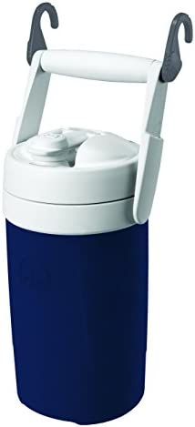 Igloo Sport Cooler with Hooks, 1 2 gal, Navy Blue