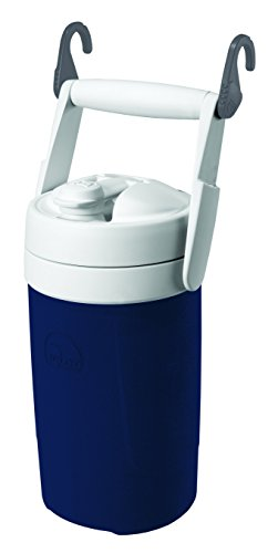 Igloo Sport Cooler with Hooks, 1/2 gal, Navy Blue