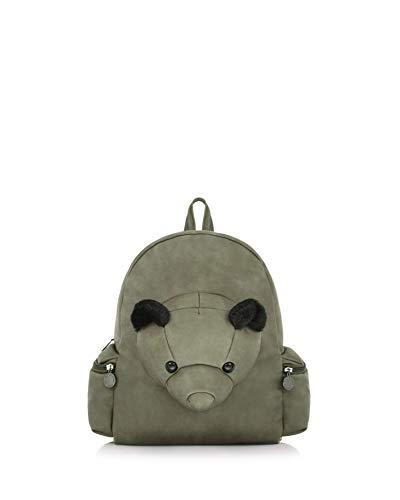Donna Le Bag Army Pandorine Green Verde Esempio Zaino Bear qEErI