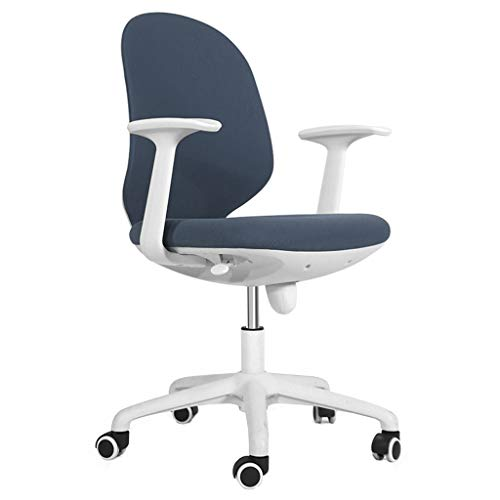 Leisure Lift - TangMengYun Office Swivel Chair Home Computer Rotating Chair Simple Mesh Office Chair Lift Seat Leisure Swivel Chair Student Study Desk Adjustable Chair (Color : Blue)