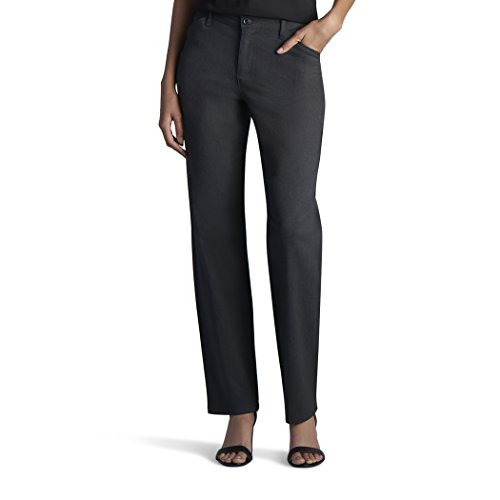 - LEE 46312 Women's Relaxed Fit All Day Pant, Charcoal Heather - 4 Short