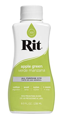 Rit Dye Liquid Fabric Dye, 8-Ounce,  Apple - Apples With Fabric