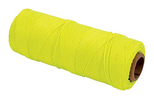 MARSHALLTOWN The Premier Line ML590 Twisted Nylon Mason's Line 1000-Foot, Size 18, 6-Inch Core, Yellow by MARSHALLTOWN The Premier Line