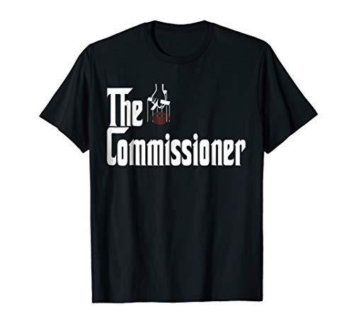 Fantasy Football Commissioner Draft Party commish FFL Tshirt