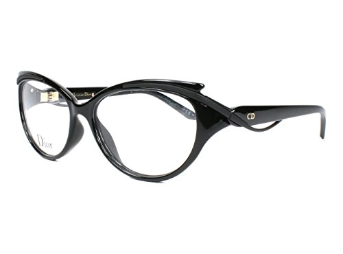 DIOR Eyeglasses 3278 09Ok Shiny Matte Black - Prescription 2013 Dior Glasses