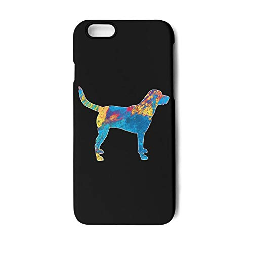 BoDu iPhone 7 case iPhone 8 Case Labrador Watercolor Dog Art TPU Protective Shockproof Back Cover for iPhone 7 iPhone 8