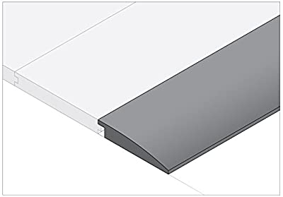 "Moldings Online 2005278032 78"" x 2"" x 0.385"" Natural Semi-Gloss Red Oak Reducer"