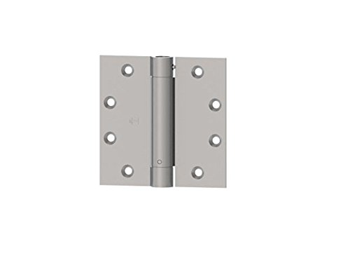 Hager 1250 4.5 x 4.5 US26D FULL MORTISE SPRING HINGE (satin Chrome) : 3 in PACK by Hager