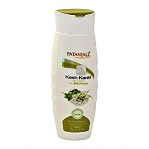 Patanjali Kesh Kanti Milk Protein Hair Cleanser for dry and rough hair 200ml