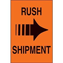 Paper Rush Shipment International Shipping Label - 6\