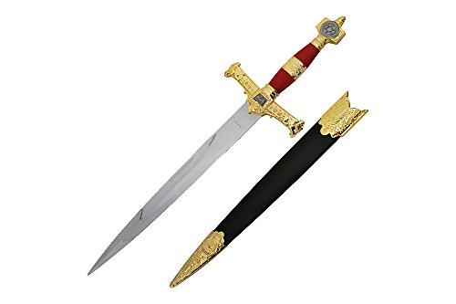 "Wuu Jau H-4914-RD King Solomon Dagger, 21.5"""