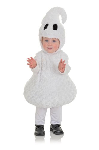 [Underwraps Baby's Ghost Belly-Babies, White, Large] (Ghost Baby Halloween Costume)
