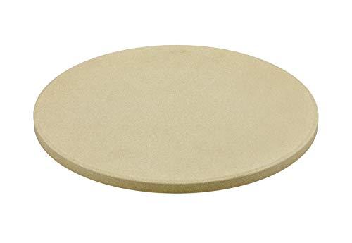 RÖSLE VARIO pizzasteen, hoogwaardige pizzasteen van chamott voor het bereiden van pizza, flambée, brood enz. op de grill…